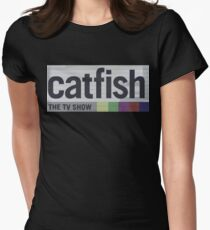 Catfish the TV Show Womens Fitted T-Shirt