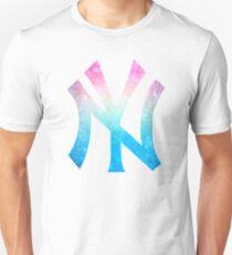 °BASEBALL° NY Yankees Rainbow Logo Unisex T-Shirt