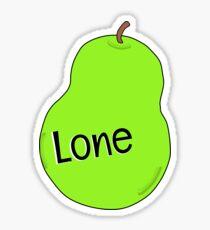 Lone Pear Sticker