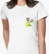 Breaking Burgers Women's Fitted T-Shirt
