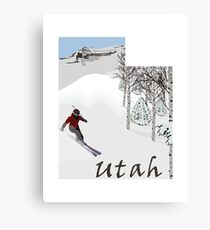 Utah: Greatest Snow on Earth Canvas Print
