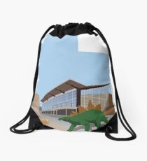Dinosaur National Park Drawstring Bag