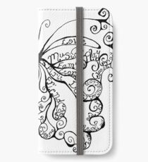 Butterfly Whispers iPhone Wallet