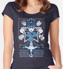 JOJOJO! ICE VER. Women's Fitted Scoop T-Shirt
