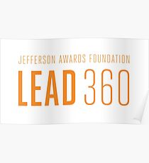 LEAD360 Logo Poster