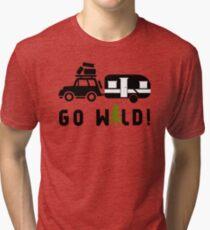 Camp Go Wild Tri-blend T-Shirt