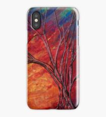 Fractured Skies iPhone Case