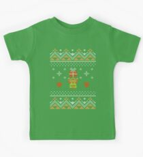 Zelda Christmas Sweater Kids Tee