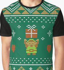 Zelda Christmas Sweater Graphic T-Shirt