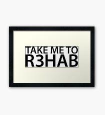 Take Me To R3hab Framed Print