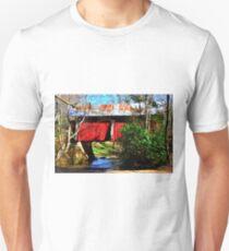 Campbell's Covered Bridge 1909 Unisex T-Shirt