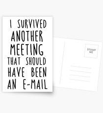 Noch ein Treffen Postkarten