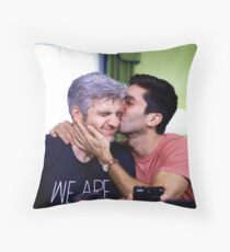 Bromance is romance  Throw Pillow