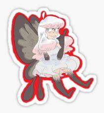 Where the Fairy (F)lies Sticker