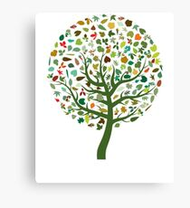Colourful Tree Canvas Print