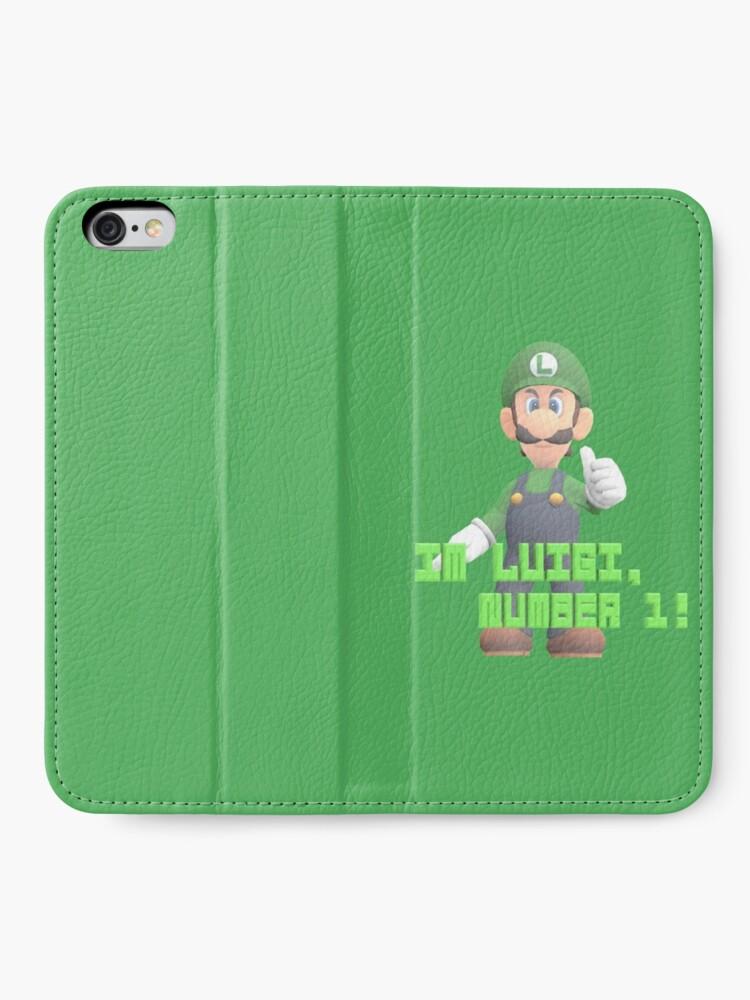 Alternative Ansicht von Super Mario Bros. - Luigi iPhone Flip-Case