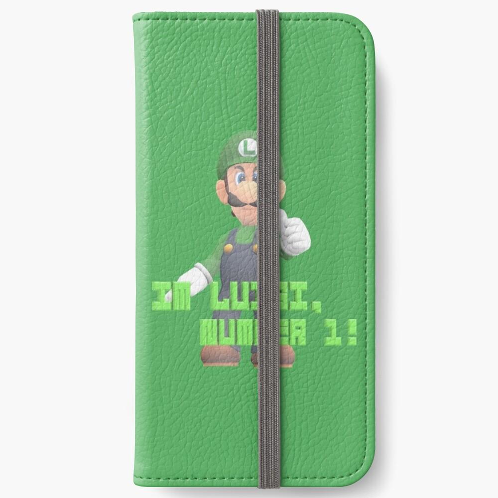 Super Mario Bros. - Luigi iPhone Flip-Case