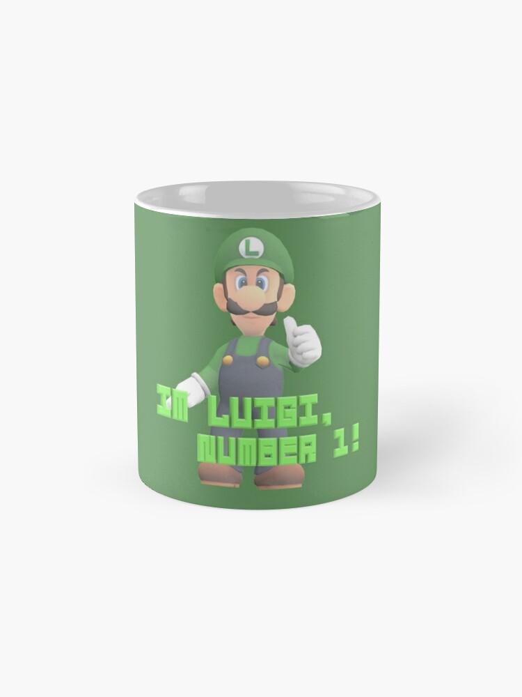 Alternative Ansicht von Super Mario Bros. - Luigi Tassen
