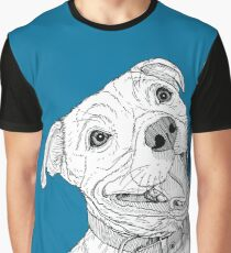 Staffordshire Bull Terrier Portrait Graphic T-Shirt