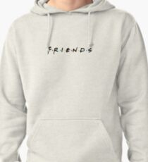 FRIENDS shirt centered Pullover Hoodie