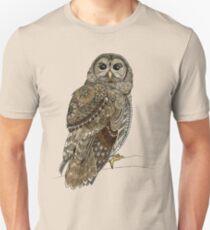 Barred Owl Tangle Unisex T-Shirt