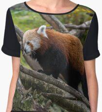 Red Panda Women's Chiffon Top