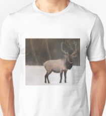 Winter Elk Unisex T-Shirt