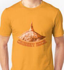 Chimney Rock Scottsbluff Nebraska Distressed Classic  Unisex T-Shirt