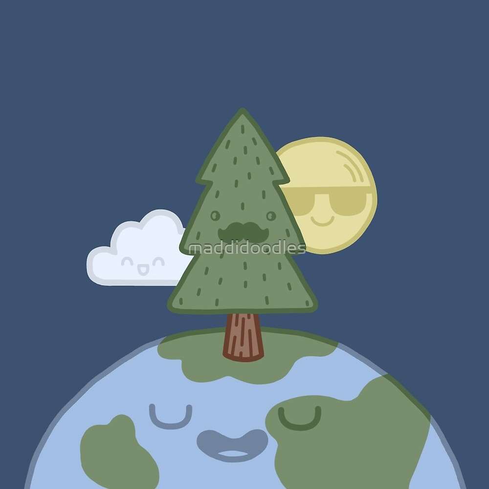 Dear Mother Earth by maddidoodles