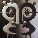 monkey heads by Stephen McLaren