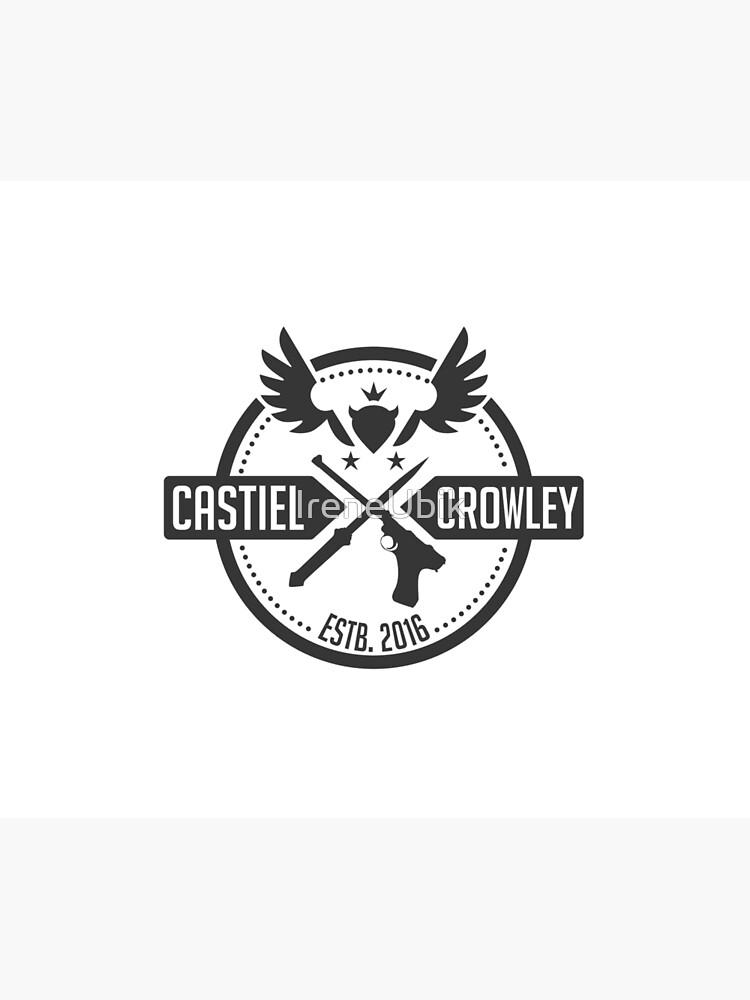 Castiel & Crowley Investigators by ladykraken