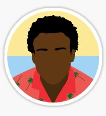 Minimalist Childish Gambino  Sticker