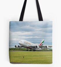 Emirates Airbus A380 Start Tote Bag