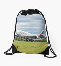 Emirates Airbus A380 Start Rucksackbeutel