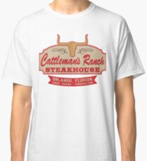 """""""Cattleman's Ranch Steakhouse"""" -  as seen on """"Fresh Off The Boat"""" Classic T-Shirt"""