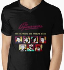 the legwarmers the ultimate 80's tribute band Men's V-Neck T-Shirt