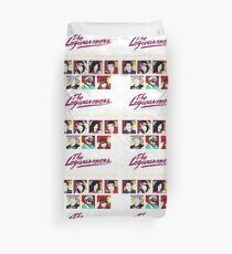 the legwarmers the ultimate 80's tribute band Duvet Cover