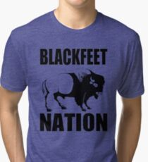 BLACKFOOT BUFFALO Tri-blend T-Shirt