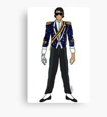 Glitter Grammy Awards - Jackson Canvas Print