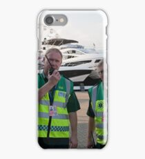 Paramedico Ltd at the 46th  Southampton Boat Show 2014 iPhone Case/Skin