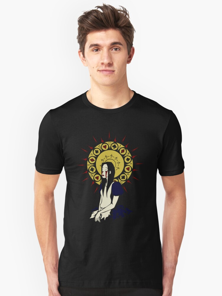 Madness Maiden (design for black tee) by Kravache