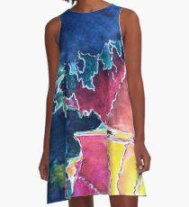 Lake Rosseau A-Line Dress