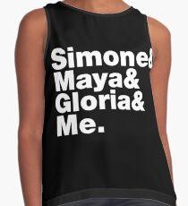 Simone Maya Gloria & Me Contrast Tank