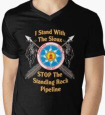 Standing Rock Crossed Arrows - Stop The Pipeline T-Shirt
