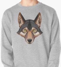 Wolf Portrait Pullover