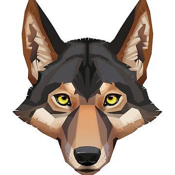 Wolf Portrait by PaulaLucas
