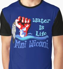 Water Is Life - Stand With Standing Rock Graphic T-Shirt