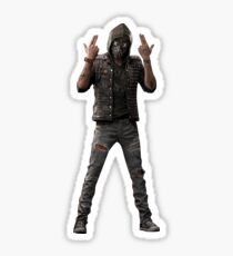 Wrench Watch Dogs 2. Sticker