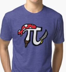 Pi Pirate Tri-blend T-Shirt