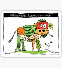 Veggie Burgers Sticker